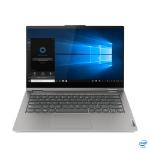 "Lenovo ThinkBook 14s Yoga Hybride (2-in-1) 35,6 cm (14"") 1920 x 1080 Pixels Touchscreen Intel Core i7-11xxx 16 GB DDR4-SDRAM 512 GB SSD Wi-Fi 6 (802.11ax) Windows 10 Pro Grijs"