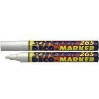 APC ER DECO MARKER 1-3MM WHITE PK10