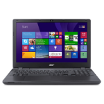 "Acer Extensa 15 EX2540-58J7 Zwart Notebook 39,6 cm (15.6"") 1920 x 1080 Pixels Zevende generatie Intel® Core™ i5 8 GB DDR3-SDRAM 256 GB SSD Windows 10 Pro"