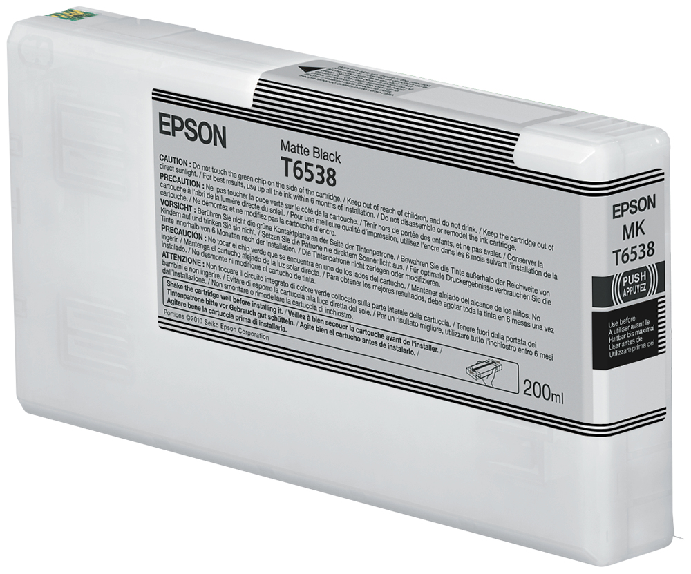 Epson Cartucho T6538 negro mate