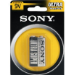 Sony Carbon Zinc Batteries, Size 9V, 1pc blister pack