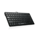 iogear GKB633U mobile device keyboard Black QWERTY USB