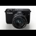 Canon EOS M10 + EF-M 15-45mm f/3.5-6.3 IS STM MILC 18MP CMOS 5184 x 3456pixels Black