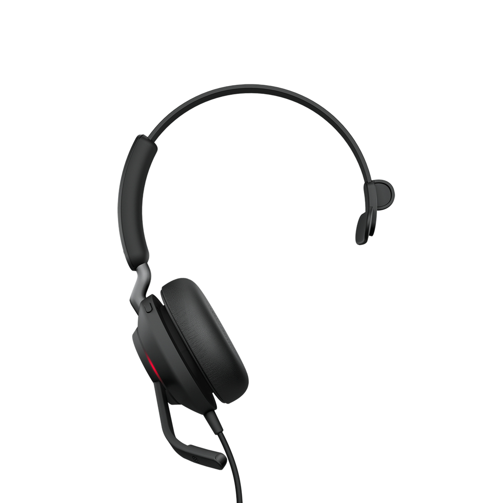 Jabra Evolve2 40, UC Mono Auriculares Diadema Negro