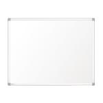 Nobo Prestige Enamel Magnetic Whiteboard 600x450mm with Aluminium Trim