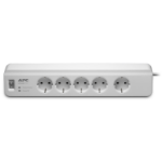 APC PM5-GR surge protector 5 AC outlet(s) 230 1.83 m White