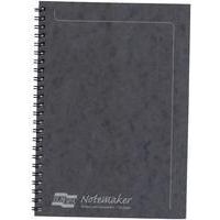 EUROPA A5 SIDEBOUND NOTEMAKER BLACK 4852