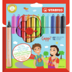 Stabilo Cappi Multicolour 12pc(s) felt pen