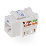 Belkin Cat5e Keystone Jack, white White cable interface/gender adapter