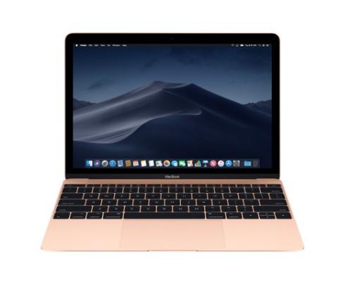 """Apple MacBook Gold Notebook 30.5 cm (12"""") 2304 x 1440 pixels 7th gen Intel® Core™ m3 8 GB LPDDR3-SDRAM 256 GB SSD macOS Mojave"""