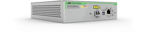 Allied Telesis AT-PC2000/LC-60 network media converter 1000 Mbit/s 850 nm Grey