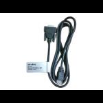 "Hewlett Packard Enterprise JL448A serial cable Black 59.1"" (1.5 m) RJ-45 DB9"