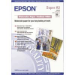 Epson WaterColor Paper - Radiant White, DIN A3+, 190g/m², 20 Sheets inkjet paper