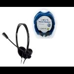 LogiLink Stereo Headset Earphones with Microphone Head-band Black