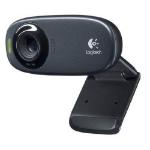 Logitech C310 5MP 1280 x 720pixels USB Black webcam