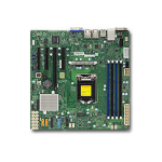 Supermicro X11SSM server/workstation motherboard LGA 1151 (Socket H4) Micro ATX Intel® C236
