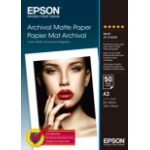 Epson Archival, DIN A3, 189g/m² Fotopapier Weiß Matte