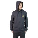 MONSTER HUNTER WORLD Rathalos Full Length Zipper Hoodie, Male, Medium, Charcoal/Dark Grey (BH001MHW-M)
