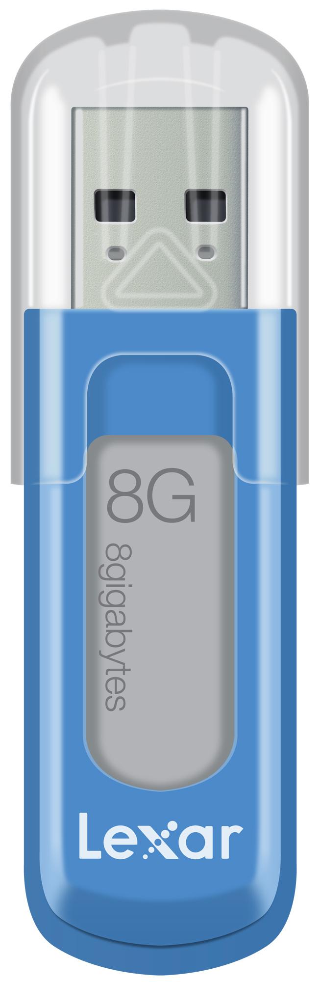 Lexar 8GB JumpDrive V10 8GB USB 2.0 Blue USB flash drive