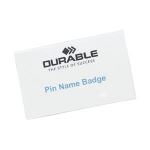 Durable 8008 100pc(s) badge/badge holder