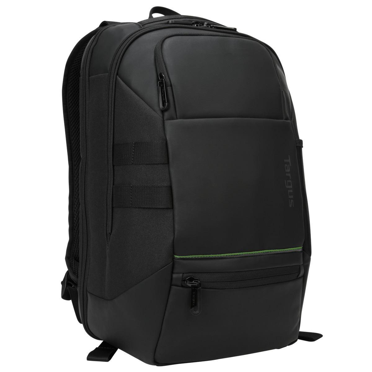 "Targus Balance EcoSmart 15.6"" notebook case 39.6 cm (15.6"") Backpack Black"