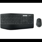 Logitech MK850 keyboard Bluetooth QWERTY US English Black