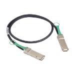 """Black Box QSFP-H40G-CU50CM-BB InfiniBand cable 19.7"""" (0.5 m) QSFP+"""