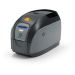 Zebra ZXP1 Dye-sublimation/Thermal transfer Colour 300 x 300DPI Black,Grey,White plastic card printer