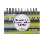 Silvine Revision Note Cards Assort 152x102mm Twinwire Pad 50