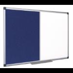 Bi-Office XA0328170 insert notice board Indoor Grey,White Aluminium