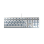 CHERRY KC 6000 Slim keyboard USB QWERTY UK English Silver