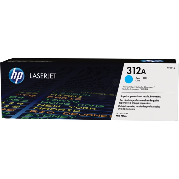 HP CF381A (312A) Toner cyan, 2.7K pages