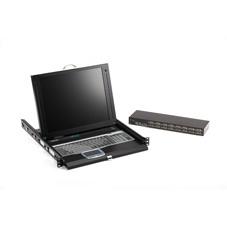Black Box ServTray rack console 43.2 cm (17