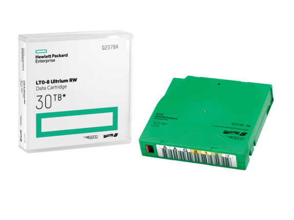 HP LTO-8 Ultrium 30TB RW Data Cartridge 12000 GB 1,27 cm
