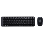 Logitech MK220 keyboard RF Wireless QWERTZ Czech Black