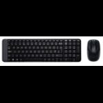 Logitech MK220 keyboard RF Wireless QWERTZ Czech Black