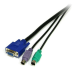 StarTech.com 6 ft 3-in-1 PS/2 KVM Cable SVPS23N1_6