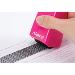Rexel ID Guard Retractable Ink Roller Pretty Pink