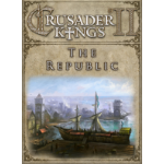 Paradox Interactive Crusader Kings II: The Republic Video Game Downloadable Content (DLC) PC/Mac/Linux