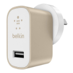 Belkin MIXIT↑ Indoor Gold, White mobile device charger