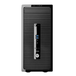 HP ProDesk 400 G2 4th gen Intel® Core™ i5 i5-4590S 4 GB DDR3-SDRAM 500 GB HDD Micro Tower Black PC Windows 7 Professional