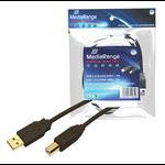 MediaRange MRCS102 printer cable 5 m Black