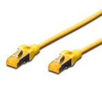 Digitus 1.5M CAT.6A 10Gb S-FTP LSZH PATCH CABLE - YELLOW
