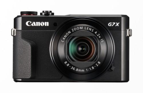 "Canon PowerShot G7 X Mark II Compact camera 20.1 MP 1"" CMOS 5472 x 3648 pixels Black"