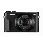 "Canon PowerShot G7 X Mark II Compact camera 20.1 MP CMOS 5472 x 3648 pixels 1"" Black"