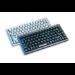 Cherry Compact keyboard, Combo (USB + PS/2), GB, light grey