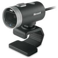 Microsoft LifeCam Cinema 1MP 1280 x 720pixels USB 2.0 Black,Silver webcam