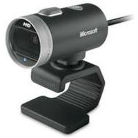 Microsoft LifeCam Cinema 1MP 1280 x 720pixels USB 2.0 Black,Silver webcam