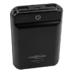 Ansmann 10.8 mini power bank Black Lithium Polymer (LiPo) 10000 mAh