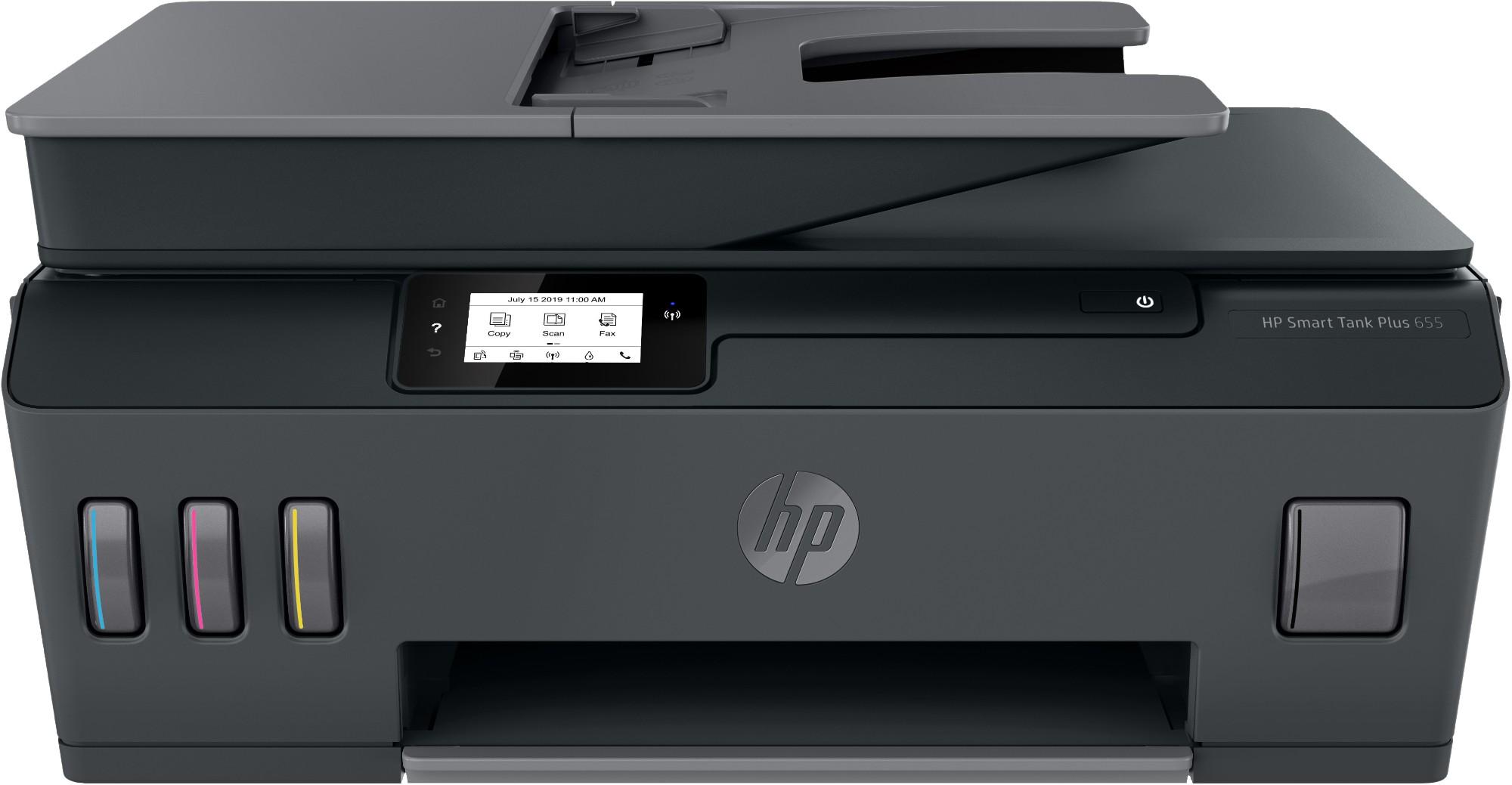 HP Smart Tank Plus 655 Thermal Inkjet 4800 x 1200 DPI 11 ppm A4 Wi-Fi